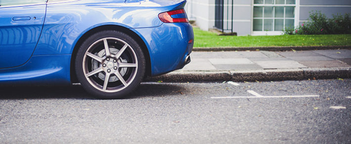 What to Do After Hitting a Curb